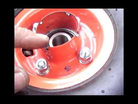 Drift Trike barrow wheels mod