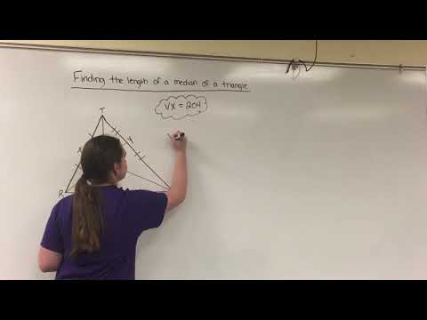 Finding the length of a median