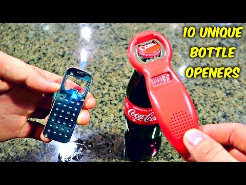 10 Weird Bottle Openers put to the Test - Part 2