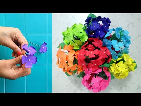 How to make a Paper Flower Bouquet | DIY Complete Tutorial