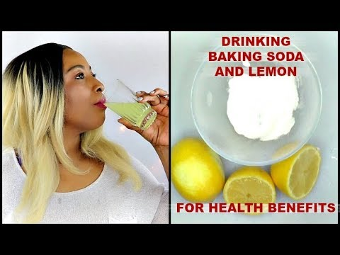 STOP! MILLIONS ARE PREPARING BAKING SODA + LEMON WRONG, HOW TO PREPARE BAKING SODA LEMON WATER|