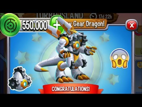 Dragon City - Gear Dragon [Turbo Island | Completed 2018]
