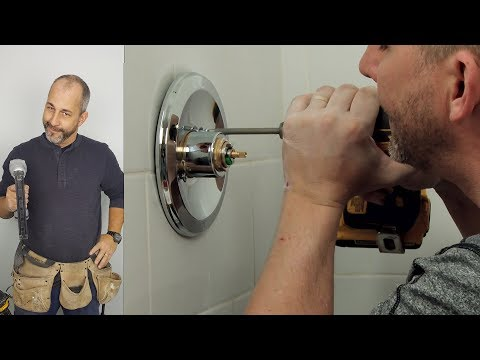 How To Install Finishing Trim, Showerhead and Caulking