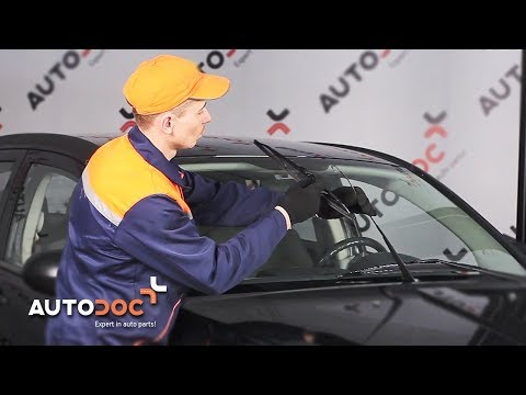 How to replace front wipers blades DODGE CALIBER TUTORIAL | AUTODOC