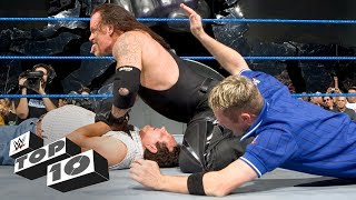 Superstars beat up rival