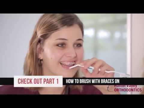 Part 3 Clever ways to floss with braces on