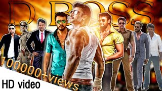 D BOSS New version Song BOSS Movie title song Challenging Star Darshan