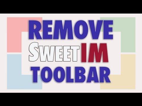 Remove SweetIM Toolbar