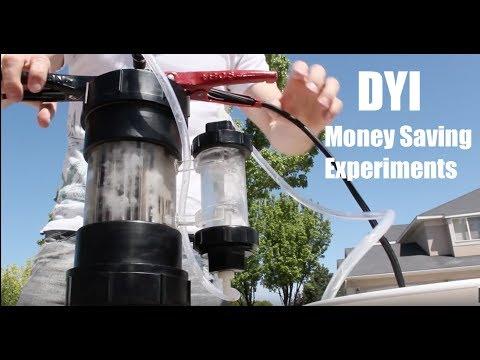 DYI Experiments - Water Splitting Device, Cheap AC, Battery Rejuvenation