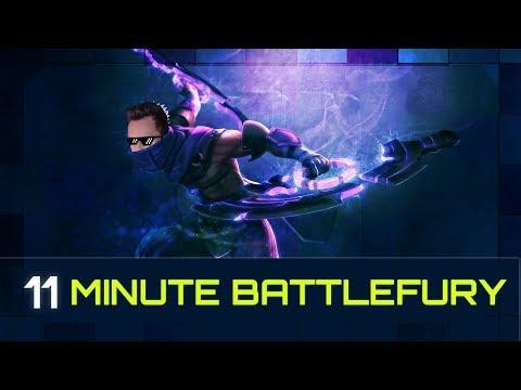 11 Minute Battlefury - Divine 5 Rank 2k