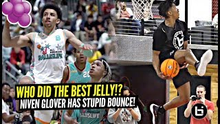 They Had a JELLY BATTLE! Niven Glover Is The BOUNCIEST Hooper In America!! #BILAAG Mixtape!