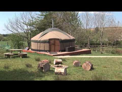 Yurts on the Isle of Arran Scotland