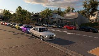 Forza Horizon 3 | BMW vs Mercedes Meet w/ E34, C63, M6, SLS AMG, M2, E36 M3 & More