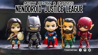 All Justice League Nendoroids - Review & Ratings #justiceleague #superman #batman #wonderwoman