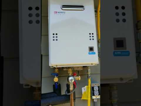 Tankless water heater 1/2 gas line