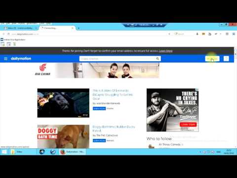 How to Create a Dailymotion Channel and Upload to Dailymotion