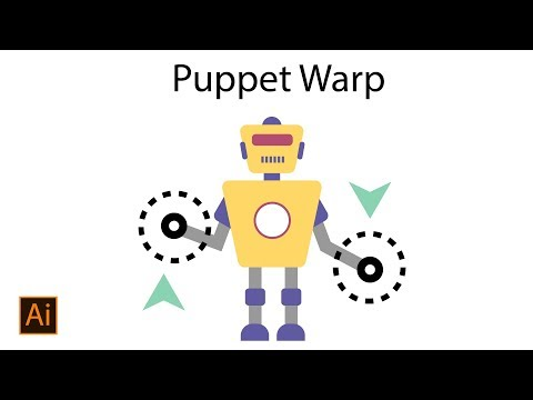 How to Use Puppet Warp Tool in Adobe Illustrator CC