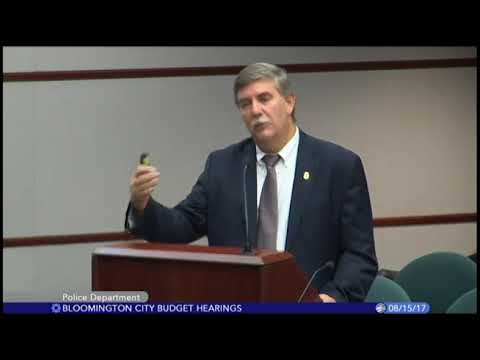 City of Bloomington Budget Hearings (2/4) - 8/15/17