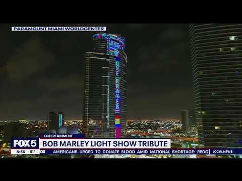 "Bob Marley Tribute ""One World, One Prayer""   PARAMOUNT Miami Worldcenter"