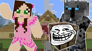 Minecraft: EVIL TROLL BLOCKS! (EXPLODING CHESTS, BURNING FURNACES & INSTANT DEATHS!) Custom Command