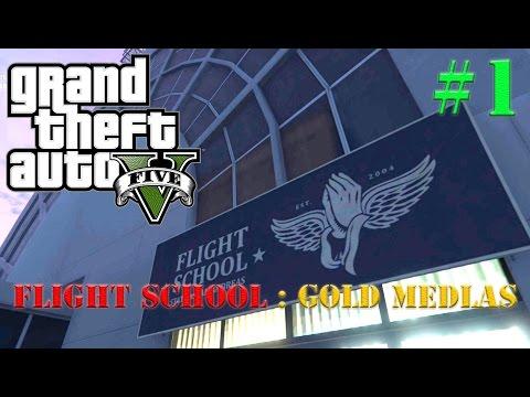 GTA 5 : Flight School Lesson #1
