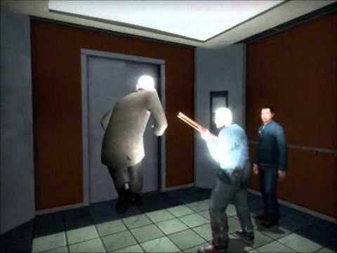 Garrys Mod: The Elevator w/ Jebus & Gamma - Part 2