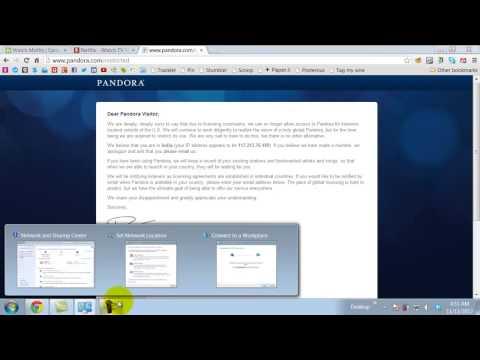 How to get Hulu Netflix Pandora outside USA via VPN - Screenr
