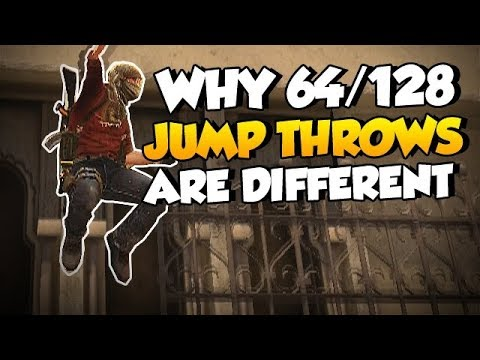 CS:GO Quick Facts - Why are 64/128 Tick Jump-Throws Different?