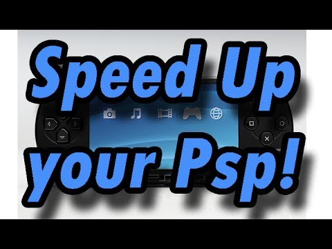 How to speed up your Psp system (CFW) (xxANOLIFEPSPxx)