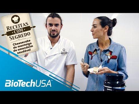 Receitas com segredo por Marco Costa - Cheescake - BioTechUSA