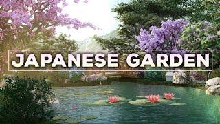The Japanese Garden 🔴Japanese Lofi Radio 24/7 🔴 No Copyright Lofi Hip Hop Beats To Study/Relax To