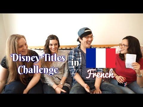[Language] Disney Titles Challenge - French Edition (FR)