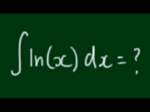 How to Integrate ln(x)