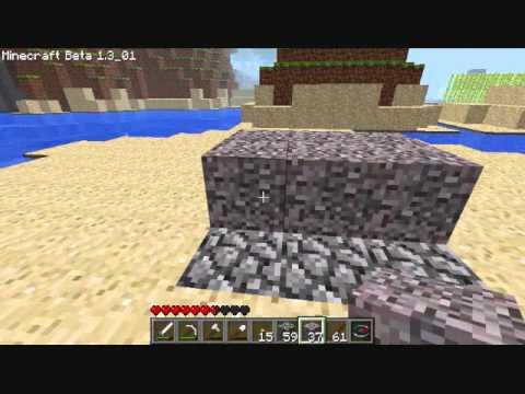 MineCraft - Gravel/Flint Mining