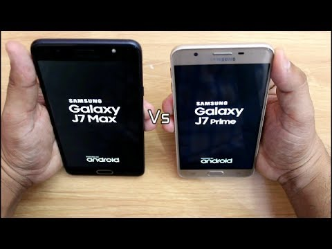 Samsung Galaxy J7 Max Vs J7 Prime SpeedTest Comparison I Hindi