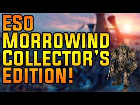 ESO Morrowind Collector's Edition!