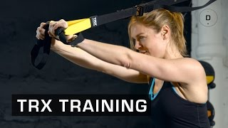 Fitness Master Class - TRX training - Lucile Woodward