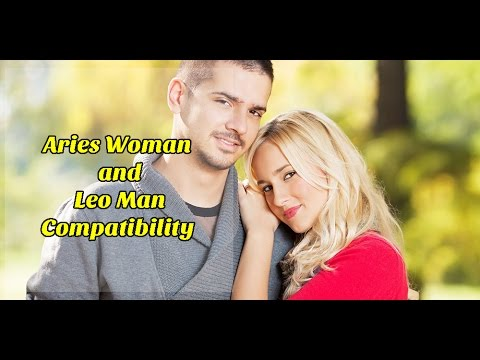 Aries Woman and Leo Man Compatibility
