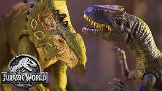 Download The Dinosaurs Breakout of Lockwood (Sweded) | Jurassic World: Fallen Kingdom | Mattel Action! Video