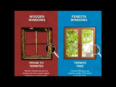 It's time to choose Fenesta Windows over Wooden Windows for your home.