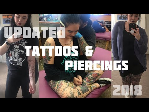 My Tattoos and Piercings: Updated 2018