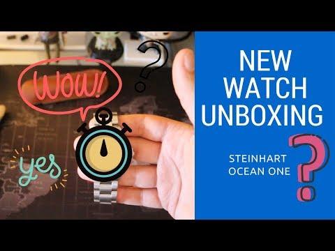 Steinhart Ocean One Watch Unboxing