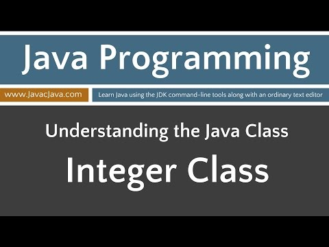 Learn Java Programming - Integer Class Tutorial