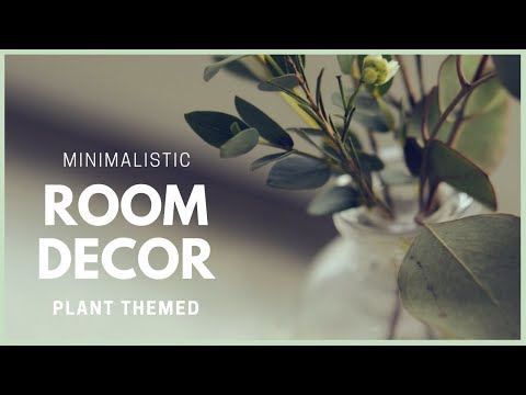 DIY Minimalist Style & Plant Themed Room Decor Ideas   How to Make Vases & Pots with Concrete