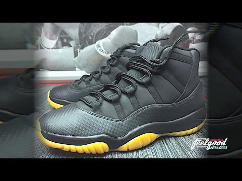 CARBON FIBER Jordan Customs!!!!  Check out the Process!
