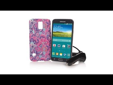 Samsung Galaxy S5 TracFone+1200 Min, Texts, Data   Case