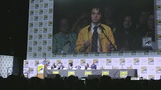 Dirk Gently Asks the Doctor a Question | SDCC 2017 | BBC America