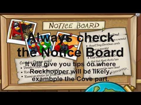 Club Penguin: How to Find Rockhopper