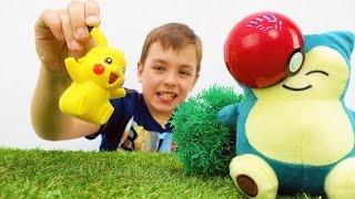 Download Играм в прятки с Покемонами. Видео игрушки покемон ГО. Video