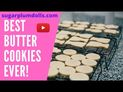 Best Butter Cookie Recipe in the World!
